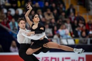 Sara Hurtado y Kirill Jalyavin medalla de Bronce en Rostelecom Cup