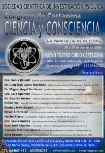 Investigación científica de la vida después de la muerte @ Cartagena, Murcia