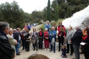 Exposición de pintura en las Cuevas del Rodeo en la localidad de Rojales
